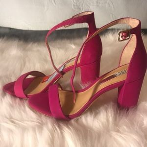 NWT Pink Heeled Sandals! Price negotiable!!